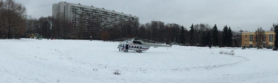 Вертолет RA-27017