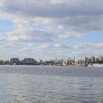 панорама химкинского водохранилища